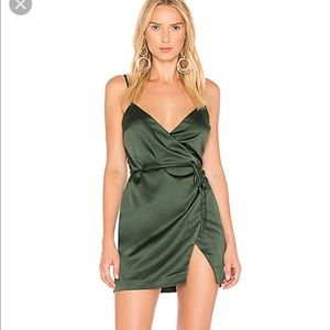 Majorelle Nina Dress in Ivy